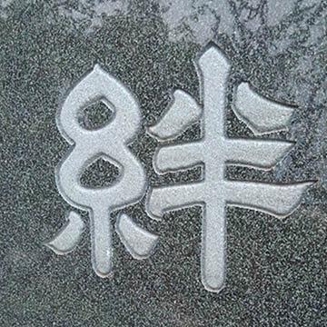立体文字彫刻
