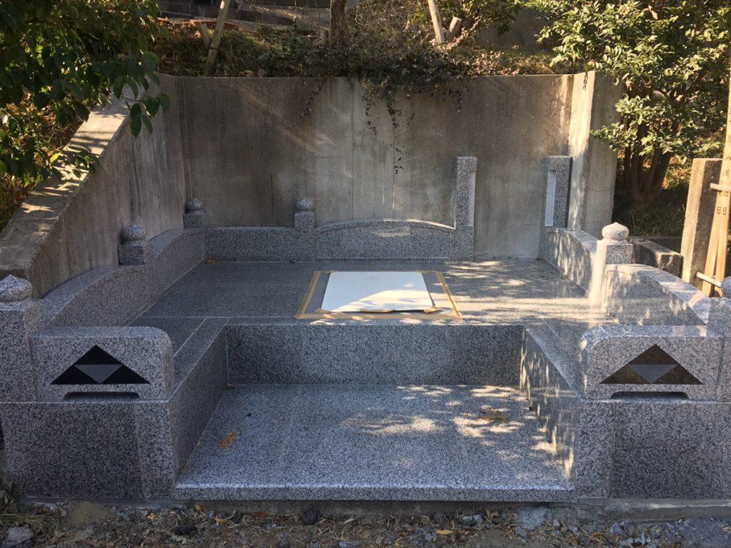 横浜南慶院 新規墓所建立 外柵と納骨堂